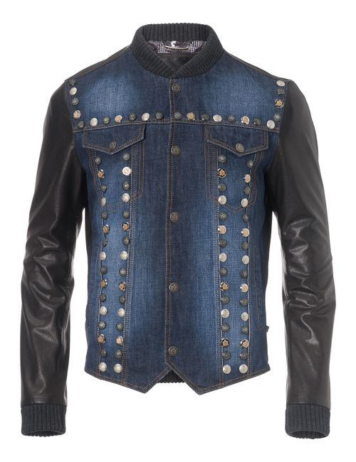 Philipp Plein | Чёрный Leather Jacket Bayfield