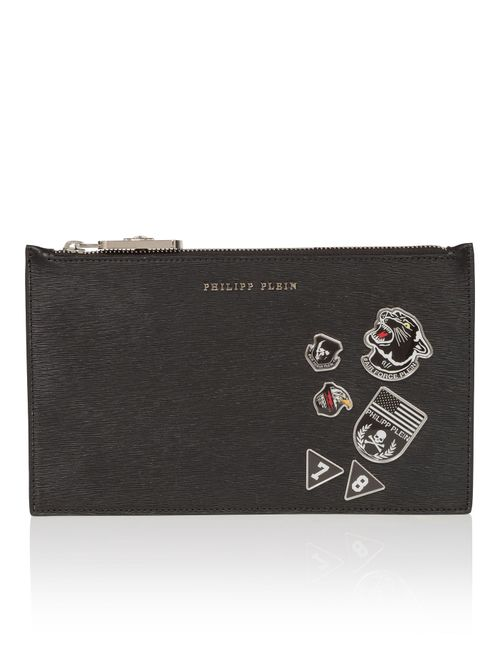 Philipp Plein | Чёрный Small Pouch Sharp Times