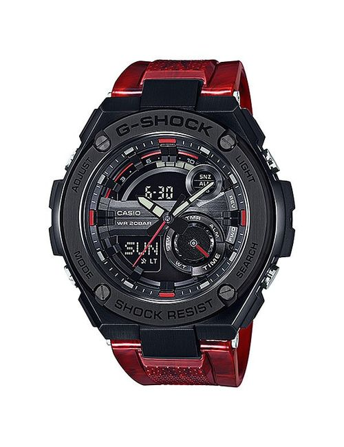 Casio | Мужские Красные Электронные Часы G-Shock Gst-210m-4a