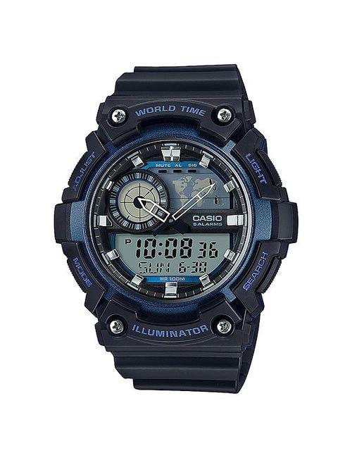 Casio   Мужские Синие Электронные Часы Collection Aeq-200w-2a