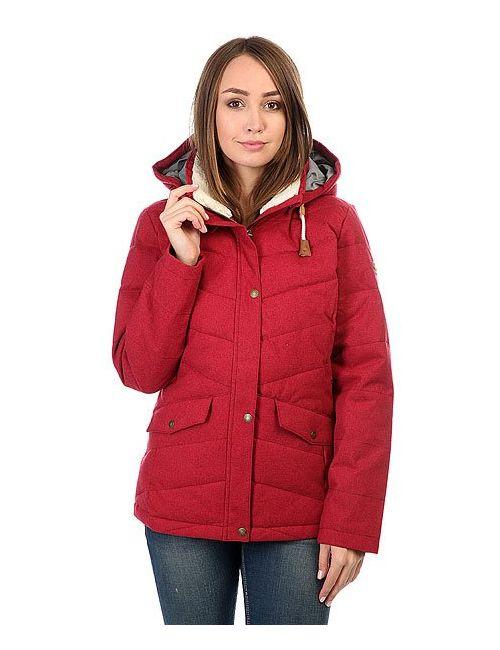 Roxy | Женская Красная Куртка Зимняя Женская Nancy Rhododendron