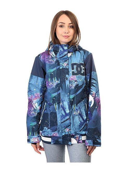 Dcshoes | Женская Многоцветная Куртка Женская Dc Dcla Howling Moon