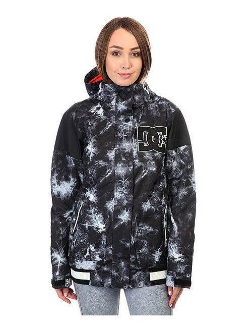 Dcshoes | Женская Многоцветная Куртка Женская Dc Dcla Tie Dye