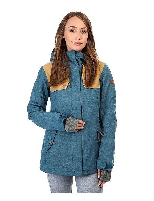 Roxy | Женская Синяя Куртка Lodge Legion