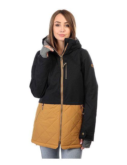 Roxy | Женская Чёрная Куртка Hartley True