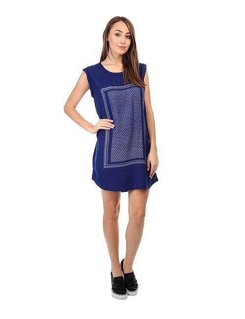 Roxy | Женское Синее Платье Sun Print