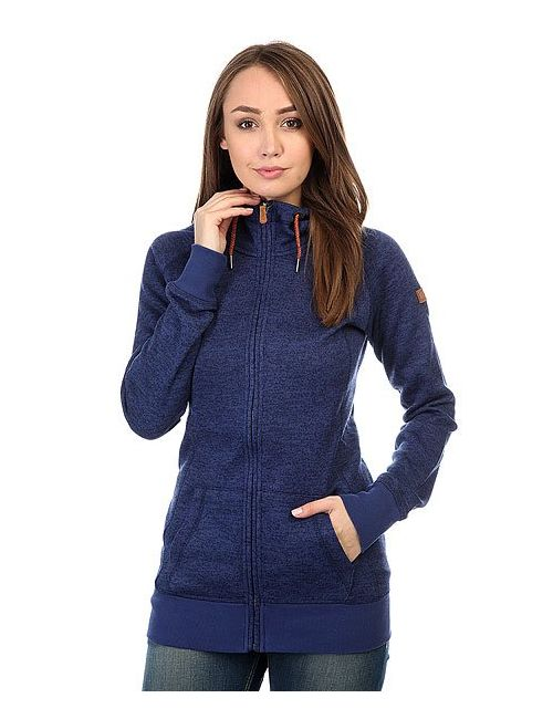Roxy | Женская Синяя Толстовка Классическая Женская Resin Knit Print