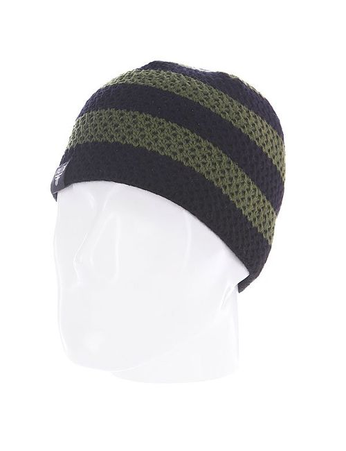 Fallen | Мужская Чёрная Шапка Buffalo Striped Knits Beanie Olive/Black