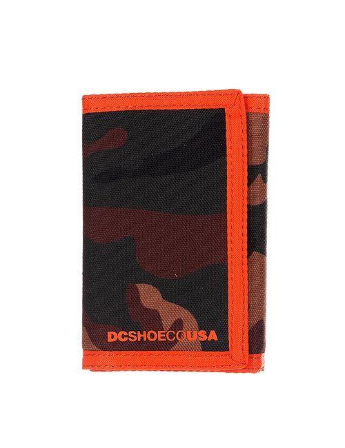 Dcshoes | Мужской Оранжевый Кошелек Dc Ripstop Le Wllt Camo