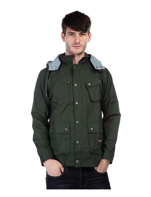 Dcshoes | Мужская Зелёная Куртка Dc Jagger Jacket Forest Green