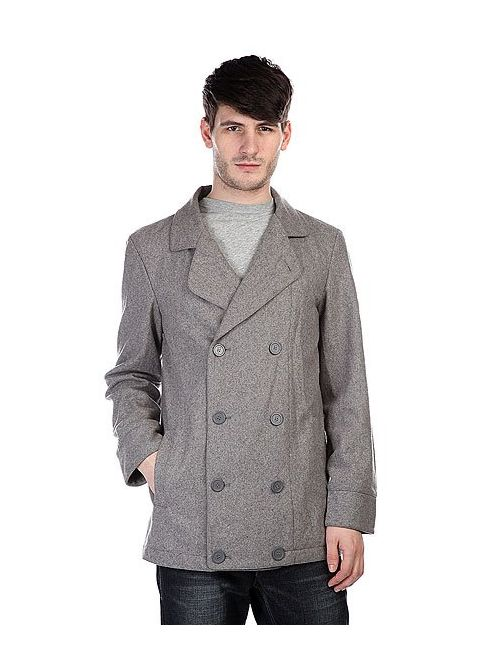 Zoo York | Мужское Серое Пальто Jim Peacoat Slate