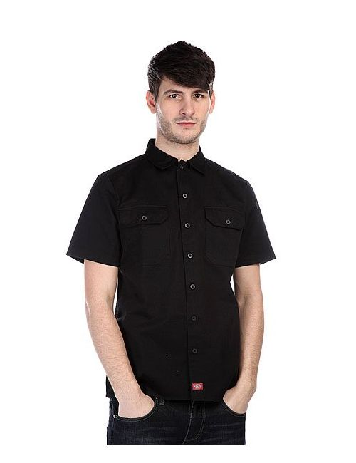 Dickies | Мужская Черный Рубашка Camaro Black