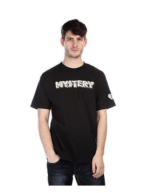 Mystery   Мужская Чёрная Футболка Coliseum Black