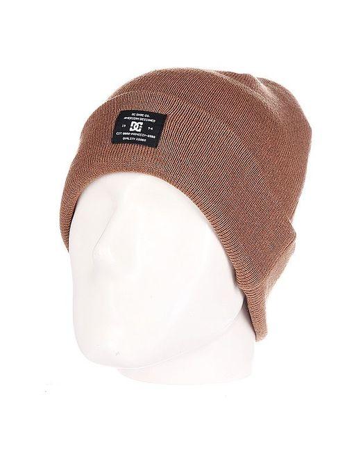 Dcshoes | Мужская Бежевая Шапка Dc Portspy Hats Rubber
