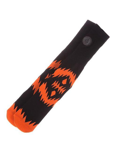 Volcom | Мужские Оранжевые Носки Средние Tall Sock Sa Black