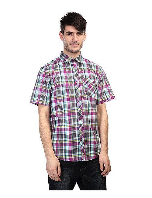 Marmot | Мужская Фиолетовая Рубашка В Клетку Homestead Slate Grey