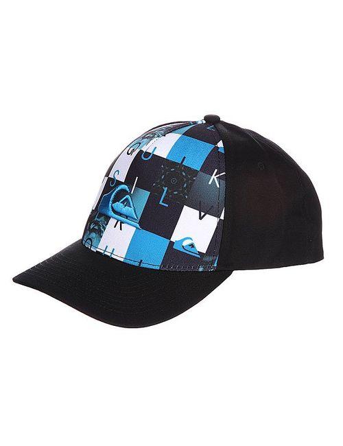 Quiksilver   Мужская Чёрная Бейсболка Pintails Hats Hawaiian Ocean