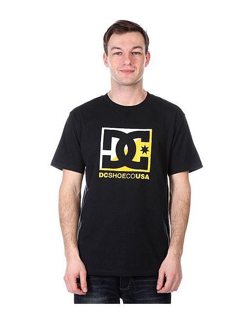Dcshoes | Мужская Чёрная Футболка Dc Crosscloud Tees Black