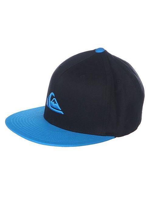 Quiksilver   Мужская Синяя Бейсболка Stuckles Hats Hawaiian Ocean