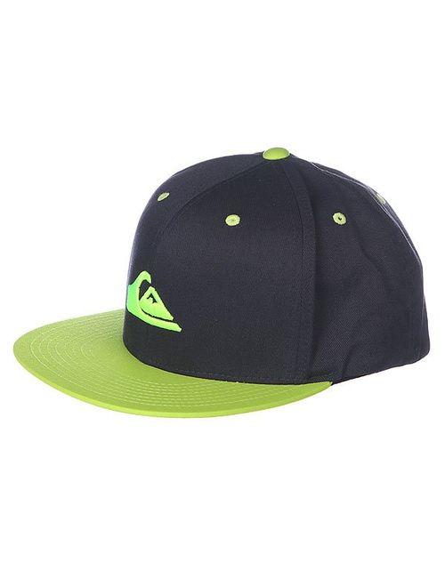 Quiksilver | Мужская Черный Бейсболка Stuckles Hats Tarmac