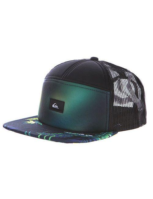 Quiksilver | Мужская Чёрная Бейсболка Bankie Hats Black