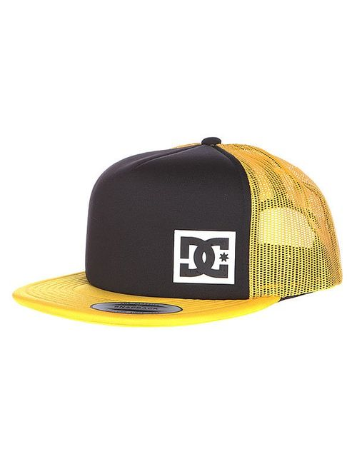 Dcshoes | Мужская Оранжевая Бейсболка Dc Blanderson Hats Black/Freesia
