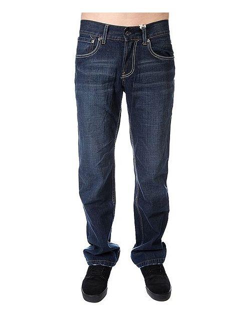 Dickies | Мужские Синие Джинсы Широкие Manchaster Vintage Pant Sw/Sandblasted