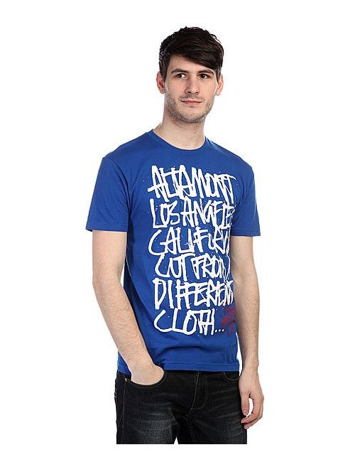 Altamont | Мужская Синяя Футболка Approved Oldy Tee Blue