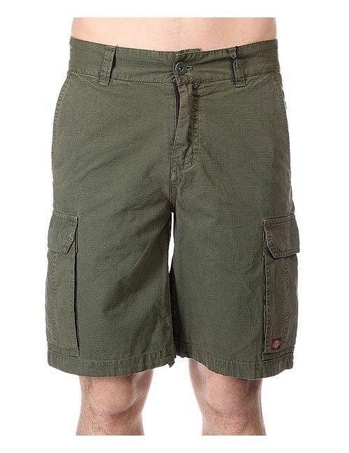 Dickies | Мужские Зелёные Шорты Apache Rs Short Dark Olive