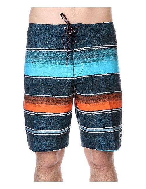 Billabong | Мужские Синие Шорты Пляжные Barra X Orange