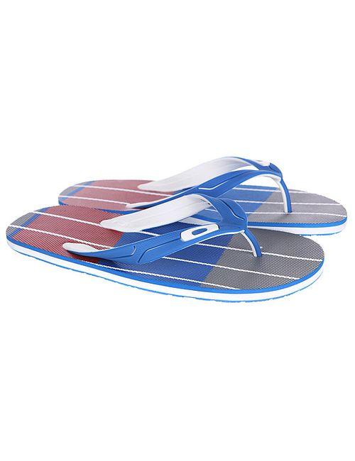 Oakley | Мужские Красные Шлепанцы Standard Blue