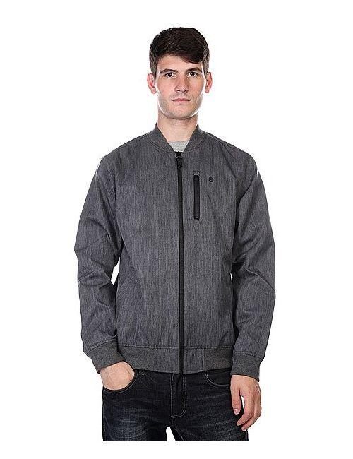 Nixon | Мужская Куртка Team Jacket Black Heather