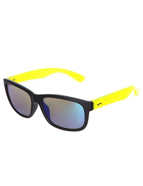 Dot Dash | Мужские Жёлтые Очки Lil Poseur Black Lime Satin/Green Chrome