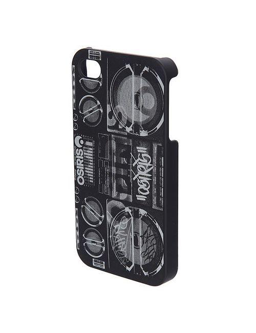 Osiris | Женский Чёрный Чехол Для Iphone 4 Cover Boombox Black/White