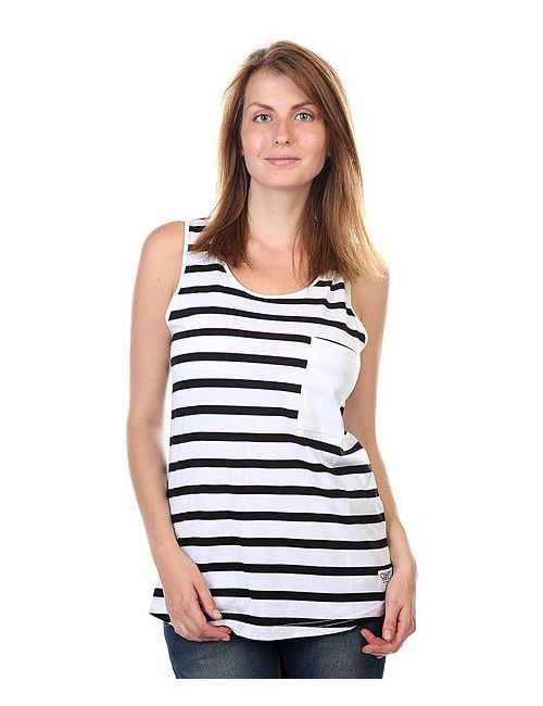 Clwr | Женская Чёрная Майка Женская Wp Tank Top Black Stripe