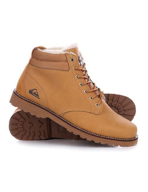 Quiksilver   Мужские Коричневые Ботинки Зимние Mission Boot Tan Solid