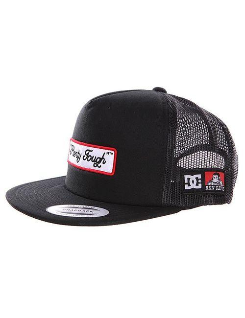 Dcshoes | Женская Чёрная Бейсболка Dc Bd Trucker Black