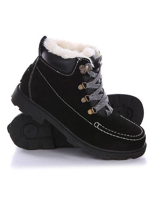 Roxy | Женские Чёрные Ботинки Зимние Женские Greta J Boot Black