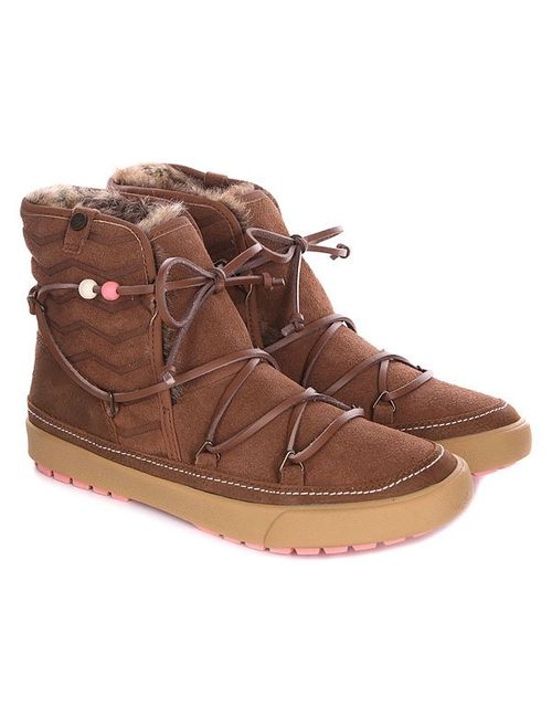 Roxy | Женские Коричневые Сапоги Зимние Женские Alaska J Boot Brown