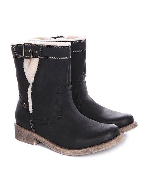 Roxy | Женские Чёрные Сапоги Зимние Женские Northward J Boot Black