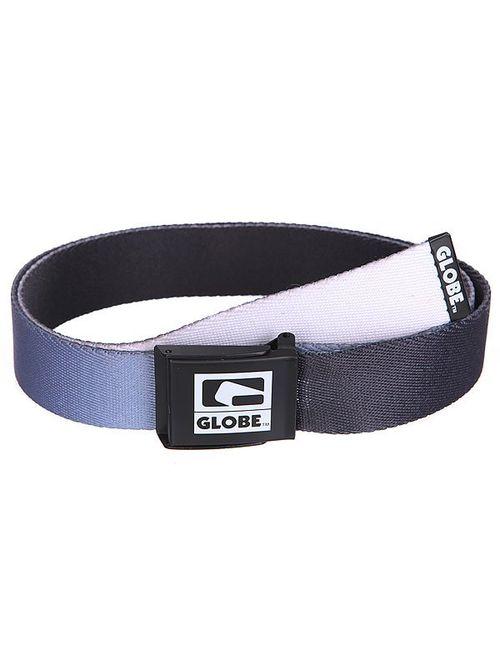 Globe | Мужской Чёрный Ремень Briggs Web Belt Black/Grey