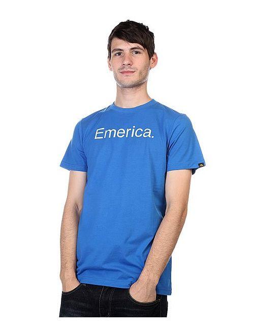 Emerica | Мужская Синяя Футболка Pure 12 Tee Blue