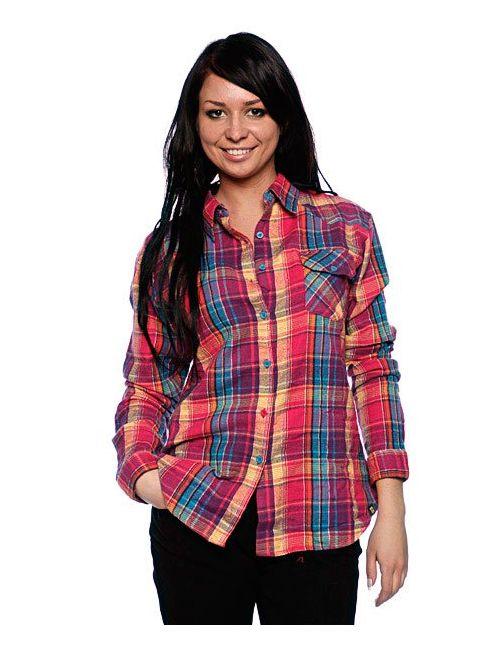 Insight | Женская Фиолетовая Рубашка Женская Flanno Kiddo Orange