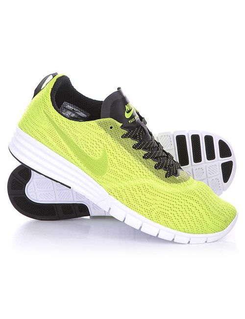 Nike | Мужские Жёлтые Кроссовки Paul Rodriguez 9 R/R Cyber/Black/White