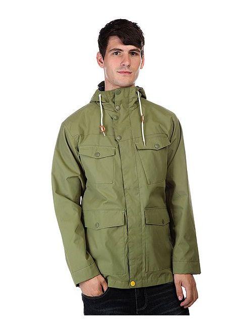 Clwr | Мужская Зелёная Куртка Harbour Loden