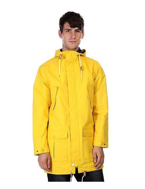 Clwr | Мужская Жёлтая Куртка Парка Bohus Burst