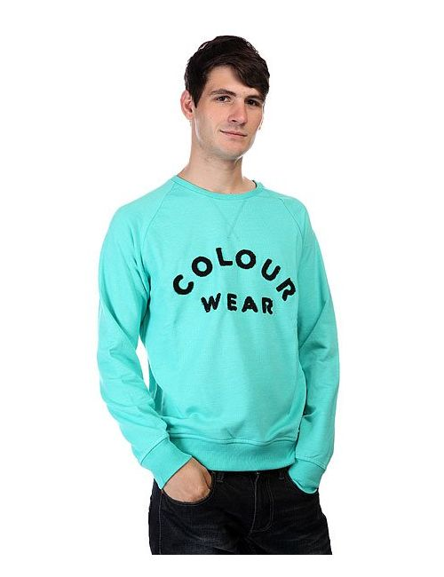 Clwr | Мужская Зелёная Толстовка Colour Crew Florida Green Melange