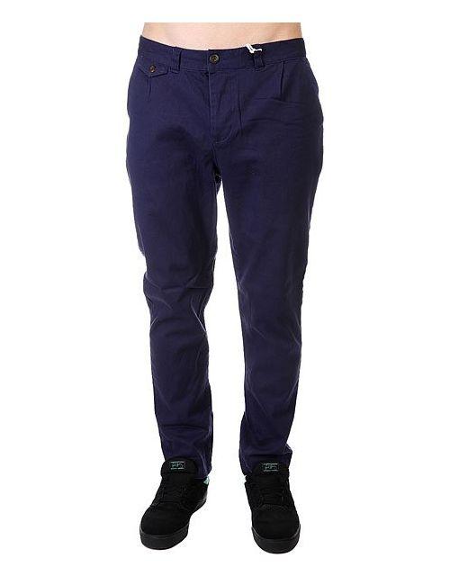 Clwr | Мужские Синие Штаны Прямые Gubb Chino Patriot Blue