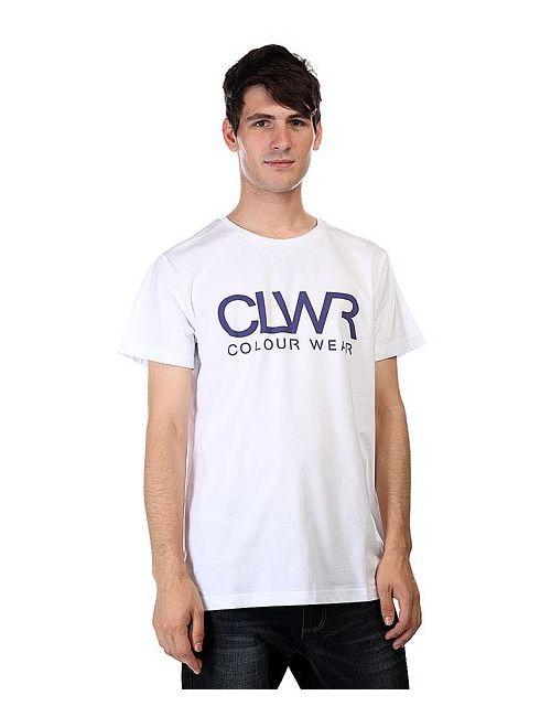 Clwr | Мужская Белая Футболка Tee White