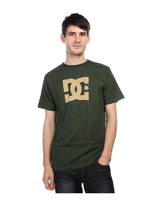 Dcshoes | Мужская Зелёная Футболка Dc Star Duffel Bag